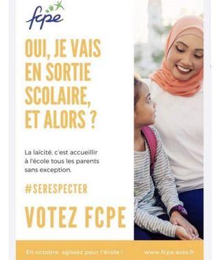 La FCPE se prend les pieds dans le tapis laïque