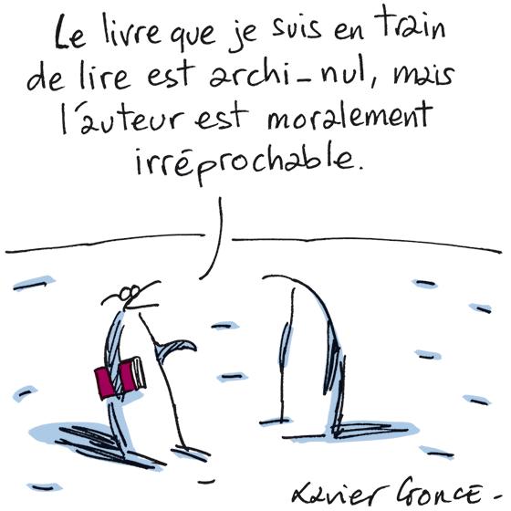Xavier Gorce (Le Monde)