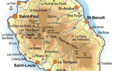 LETTRE DE LA RÉUNION,  DÉPARTEMENT FRANÇAIS  SOUMIS À LA LOI DE SÉPARATION DE 1905.