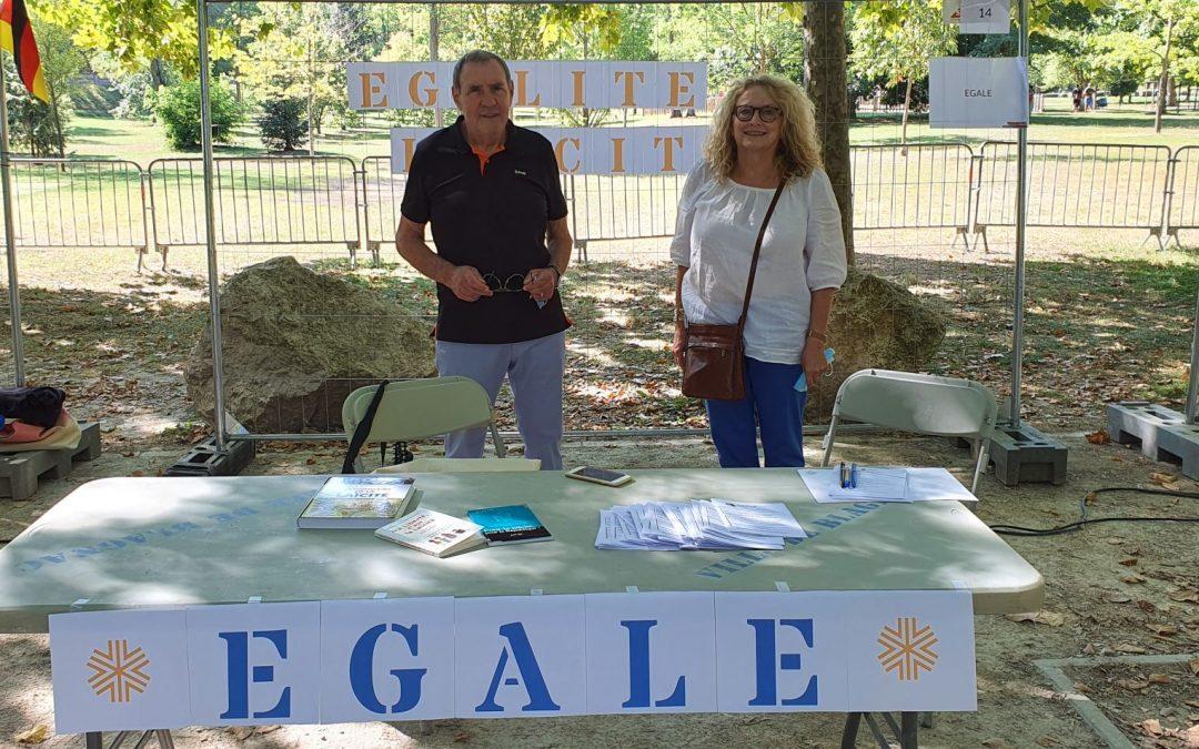 EGALE était présente au forum des associations de Blagnac